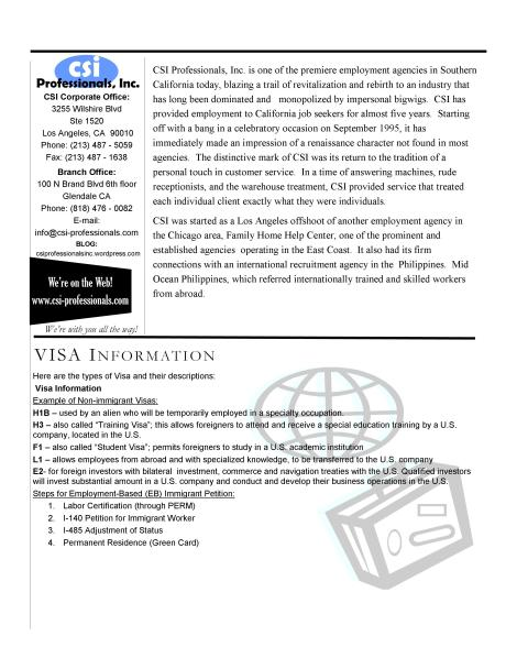 Newsletter for Employer page4