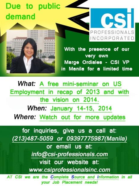 Manila Seminar!
