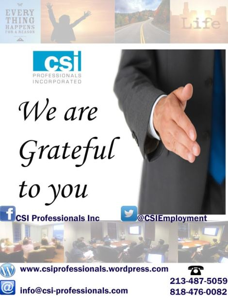 Everything Happens For A Reason Csi Professionals Incs Blog