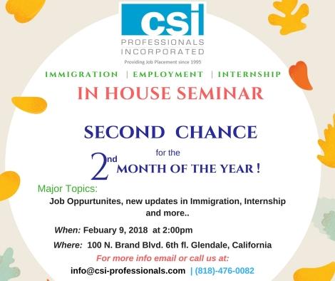 2nd seminar feb 9